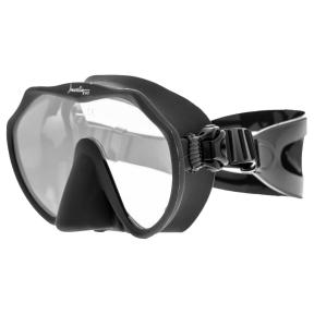 Маска Marlin Frameless EVO для плавания, черная