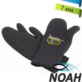 Перчатки Marlin трехпалые Nord 7 мм для подводной охоты