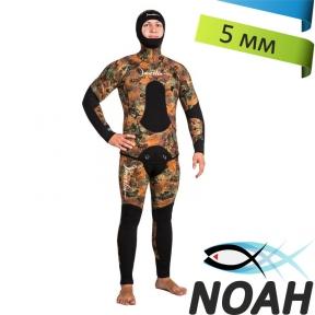 Гидрокостюм Marlin Camoskin Brown 5мм для подводной охоты
