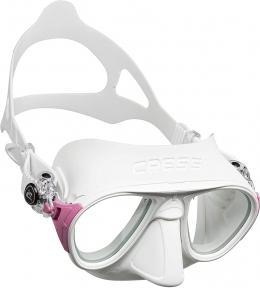 Маска Cressi Calibro для подводной охоты, белая