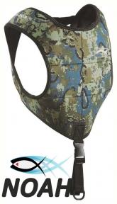 Разгрузочный жилет Salvimar Drop NAT для подводной охоты (камуфляж, 6 карманов)