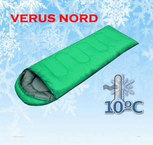 Спальный мешок универсальный Verus Nord Green до - 10°C