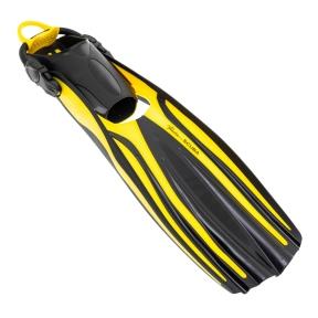Ласты Marlin Scuba желтые, открытая пятка с пружиной