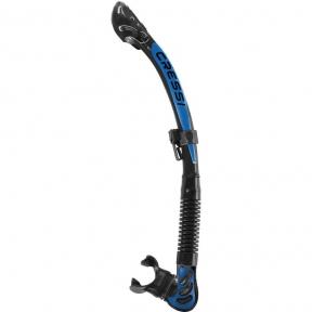Трубка Cressi Alpha Ultra Dry, синяя