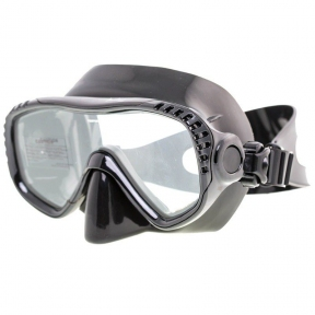 Маска Marlin Look для подводной охоты, черная