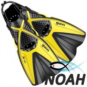 Ласты Mares X-One для снорклинга с открытой пяткой