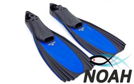 Ласты с закрытой пяткой Zelart ZP-439 для плавания, цвет синий