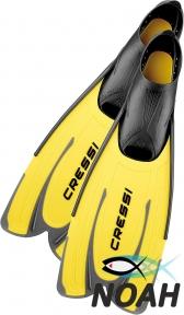 Ласты Cressi Agua Yellow для плавания