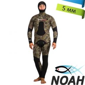 Гидрокостюм Marlin Camoskin Green 5мм для подводной охоты