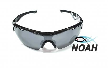 Очки CRESSI солнцезащитные зеркальные VENTO BLACK/SILVER LENS, серые