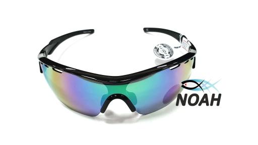Очки CRESSI солнцезащитные VENTO BLACK/GREEN LENS, зеленые