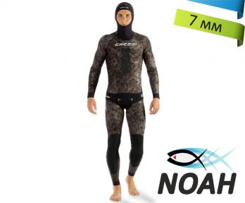 Гидрокостюм Cressi Tracina 7 мм для подводной охоты (штаны на лямках)