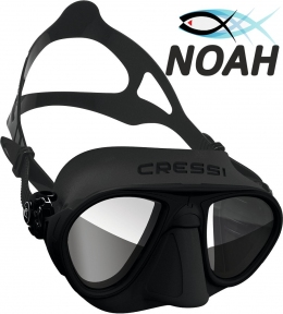 Маска Cressi Calibro Black для подводной охоты