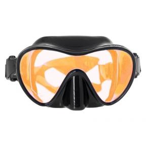 Маска Marlin Frameless Duo оранжевые линзы, с просветленным стеклом