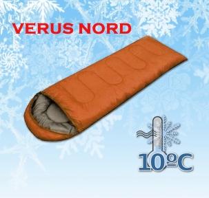 Спальный мешок универсальный Verus Nord Brown до - 10°C