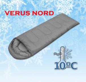 Спальный мешок универсальный Verus Nord Gray - 10°C