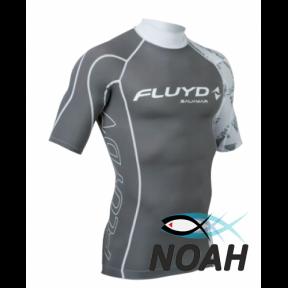 Рашгард Salvimar Fluyd с удлиненными рукавами для плавания, серый