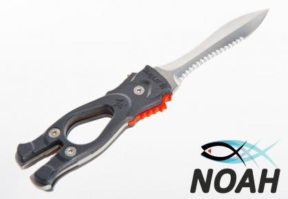 Нож SARGAN Сталкер-Стропорез Z1 с зеркальной полировкой лезвия для подводной охоты
