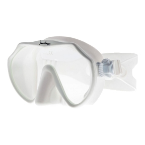 Маска Marlin Frameless EVO для плавания, белая