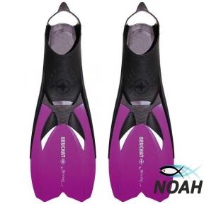 Ласты Beuchat JETTA для плавания, фиолетовый