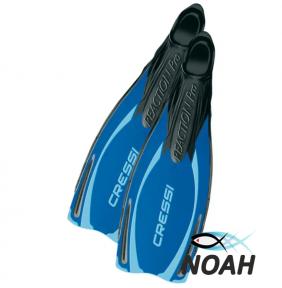 Ласты Cressi Reaction Pro для плавания, синие