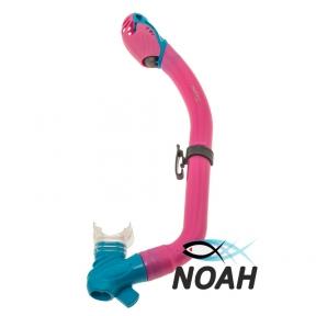 Детская  трубка Marlin Joy Pink/Aqua для плавания