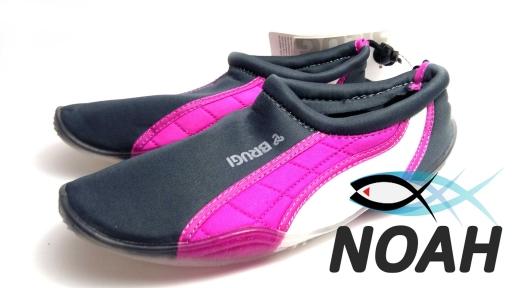 Тапочки для кораллов Brugi Pink неопреновые с силиконовой подошвой (Аквашузы)