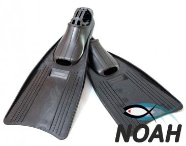 Ласты INTEX с закрытой пяткой для плавания, цвет черный