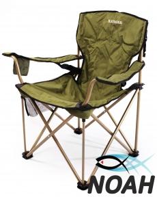 Кресло-зонт раскладное с подлокотниками Ranger FS 99806, зеленое