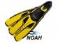 Ласты Beuchat X Voyager для плавания, желтые