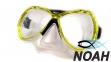 Маска Zelart ZP-M301TSS для плавания, цвет желтый