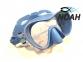 Маска Cressi F1 Small Blue для плавания, детская