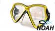 Маска детская Intex 55980 для плавания, цвет желтый
