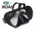 Маска Verus F1 DUO Black для плавания, черная