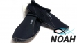 Тапочки для кораллов Brugi Black неопреновые с силиконовой подошвой (Аквашузы)